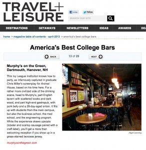 Best College Bars!